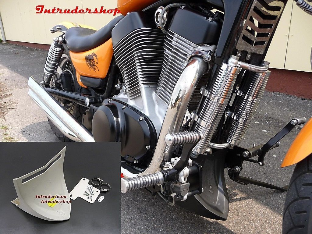 Bugspoiler CROSSFIRE Chin fairing GFK TÜV Suzuki Intruder VS1400 High Quality