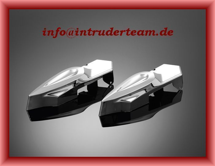 Cover Hinterachse / Schwinge Swing arm covers Honda VT750