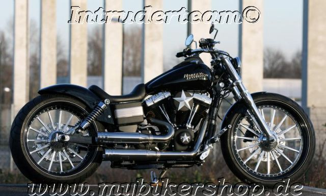 Harley Fxd Fenders : Rear fender steel harley davidson quot tyre dyna