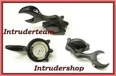 Lenkeruhr CLAW WHITE FACE Gehäuse black  Handlebar watch 25mm & 32mm Lenker