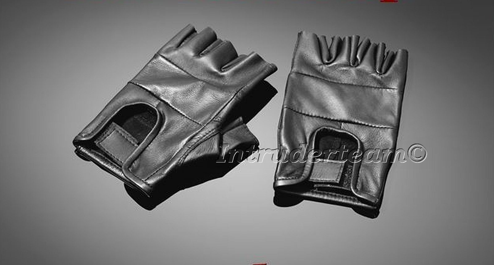 Handschuhe fingerlos Leder Topless gloves, real leather Größe S M L XL XXL