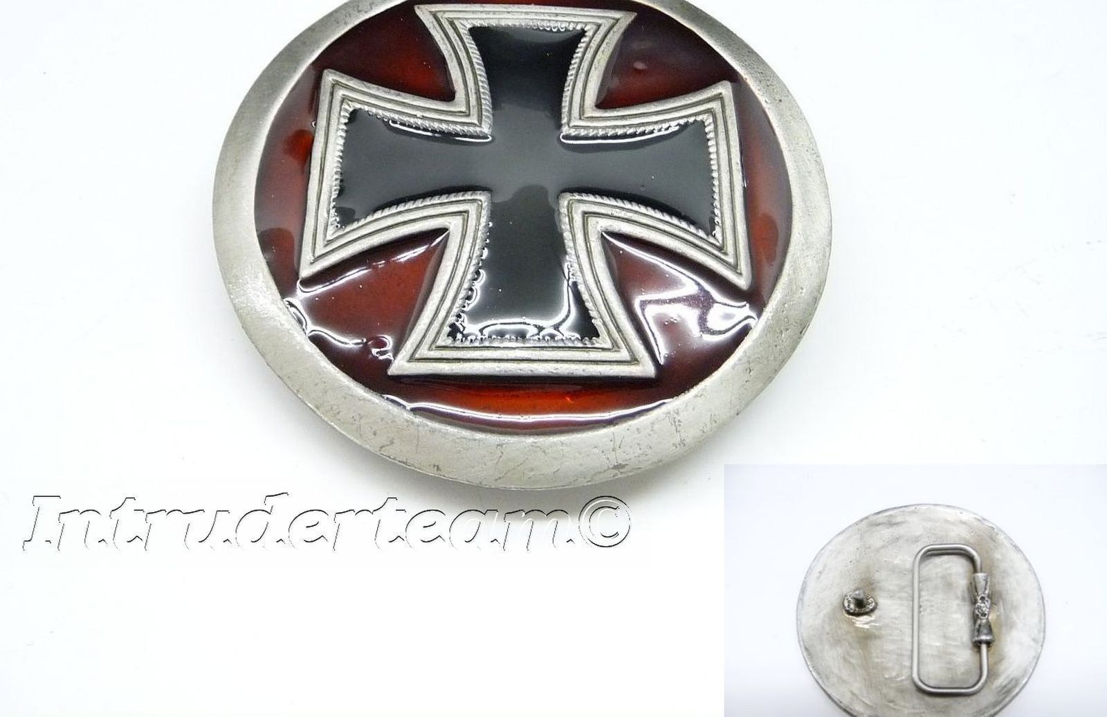 Gürtelschnalle Belt BUCKLE GOTHIC CROSS