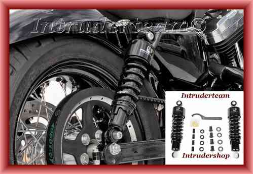 Stoßdämpfer Shock absorbers Progressiv Suspension 280mm Harley Sportster Modelle