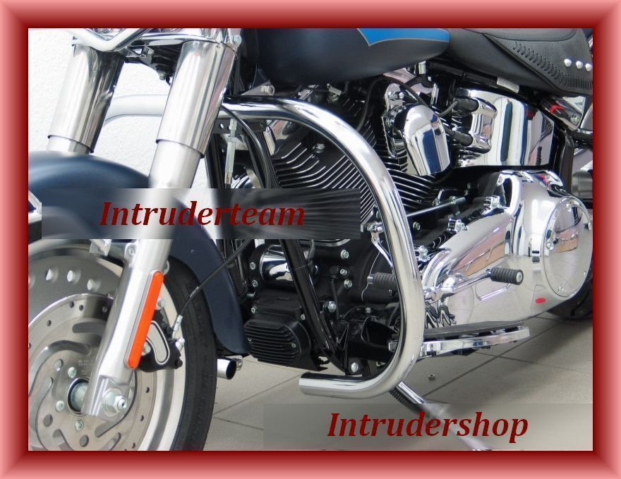 Motorschutzbügel Engine Guard BIG ONE Harley Softail ab 2007 (Twin Cam 96B)