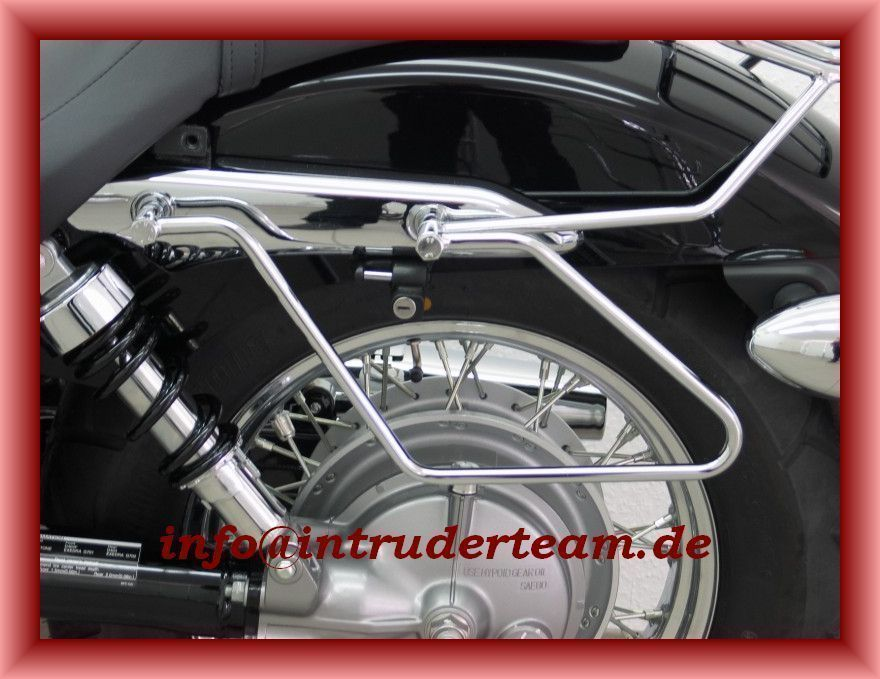 Satteltaschenhalter Saddlebag Holder Honda VT750 C7 Spirit & Black Spirit