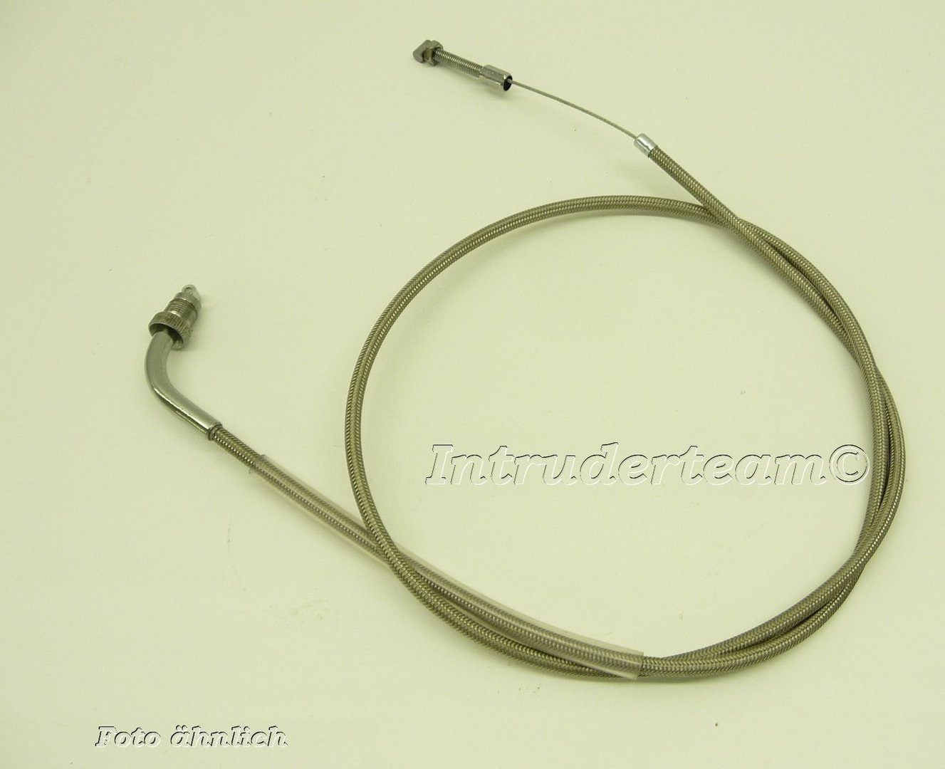 Clutch cable braided steel. extention + 15cm  Honda VT600