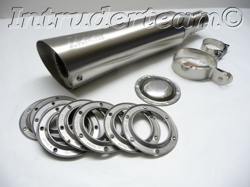 "Exhaust SUPERTRAPP 4"" Ssteel Mounting 51mm VS1400 and other"