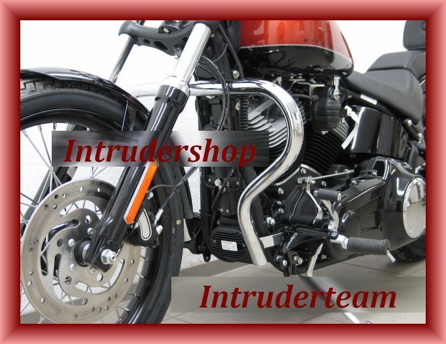 Motorschutzbügel BIG ONE schmal  Harley Davidson Softail Blackline