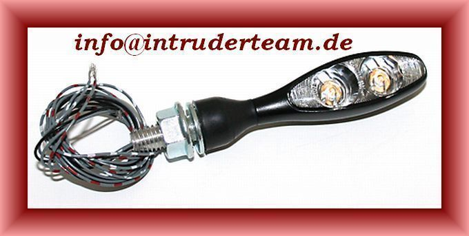 Indicator- Taillight- Brake-light Kellermann black e-mark