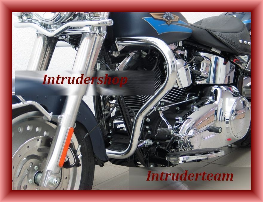 Motorschutzbügel BIG ONE schmal Harley Softail Mod. ab 07 (Twin Cam 96B)