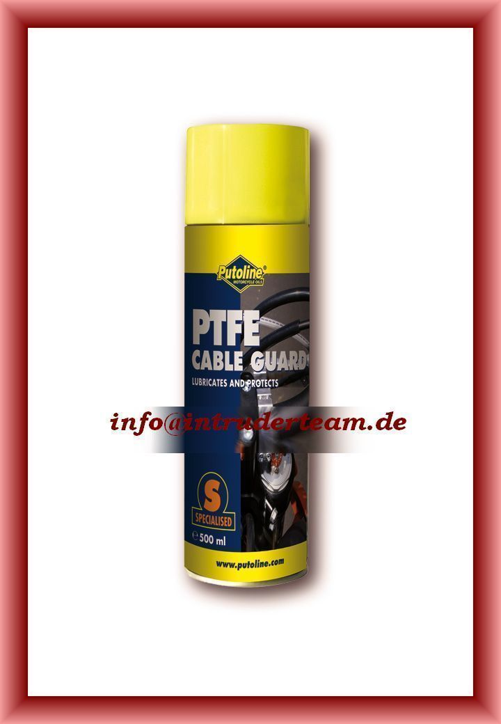 Putoline PTFE Cable Guard PTFE Universal - Schmiermittel  500 ml Spraydose