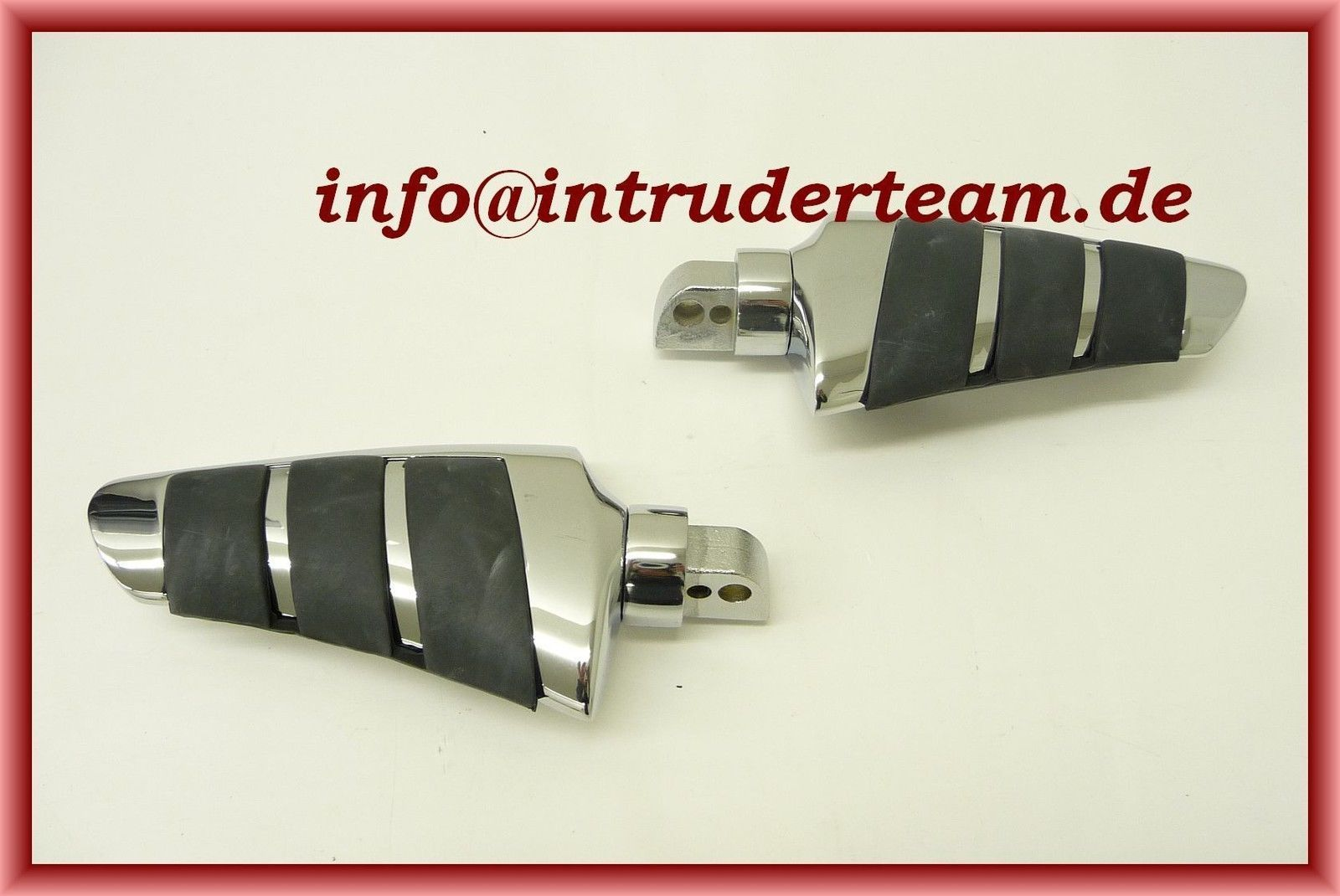 Fußrasten Footpegs Sozius Smooth Honda VT125, VT600C '99-UP, VLX '99-UP, VT750, VT1300CX / Fury