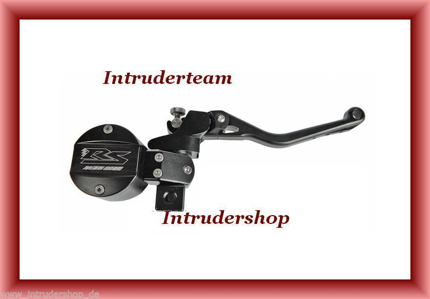 Clutch- and master cylinder RS alu.