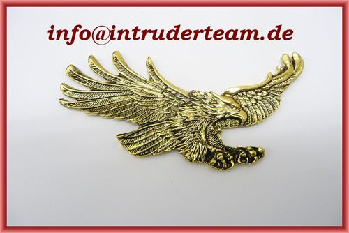 Emblem Adler Hawk small Messing (110 X 55 Mm)