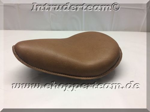 Solo Seat Small Brown Vintage Real Leather
