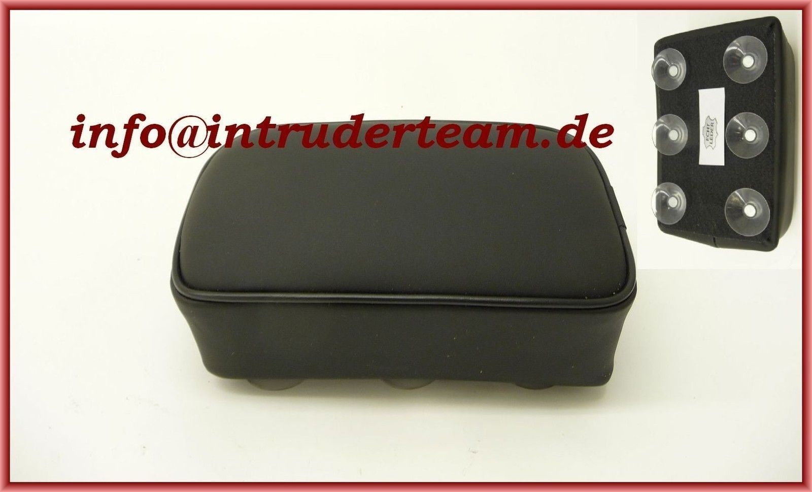 Pillion pad Real Leather High Quality size XL 20x28x8cm