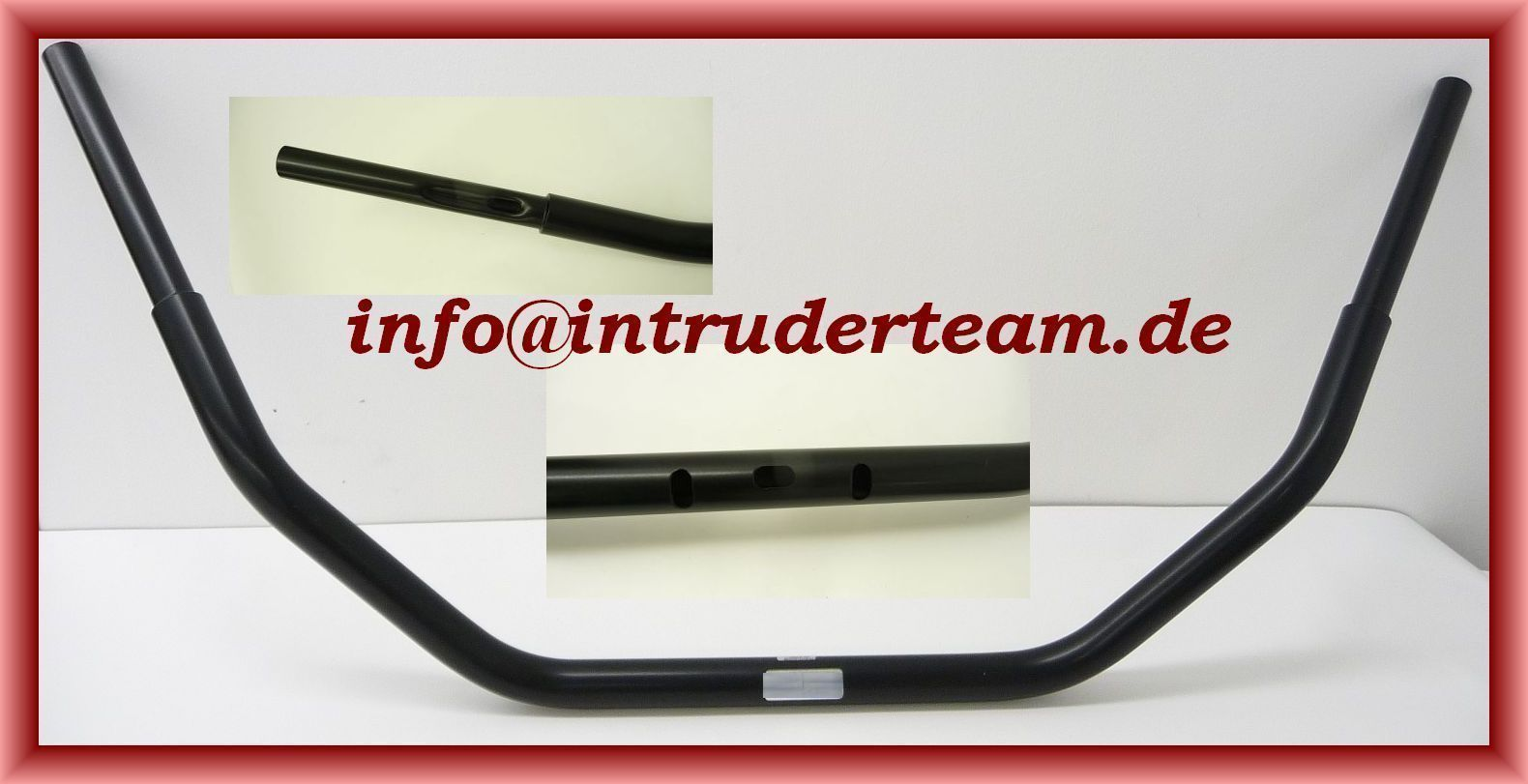 "Lenker FATBAR DIRTY BAR black schwarz 100cm 1 1//4"" 33mm Intruder Harley etc"