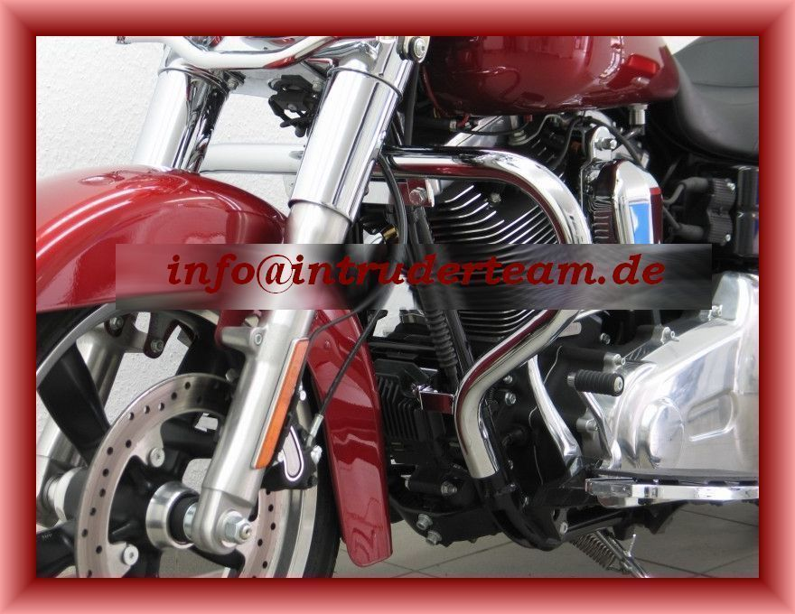 Motorschutzbügel BIG ONE 38mm Rohr Harley Davidson Dyna Switchback ab 2010