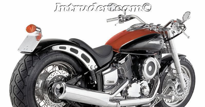 Fender Heckumbau rear fender RAINY  GFK bis 210mm Yamaha XVS1100
