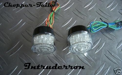Blinker Indicator LED Ideal zum Einbauen Set
