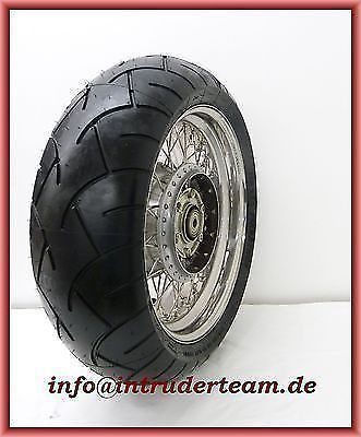 Wheel complete CHROM  6.00x17 210 Tyre for Intruder VS1400