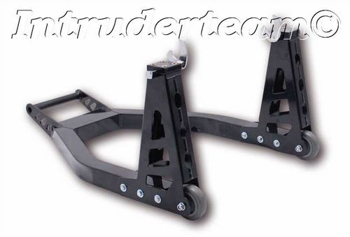 MOTOPROFESSIONALM/C stand, for rear, aluminium, with swing arm adapter