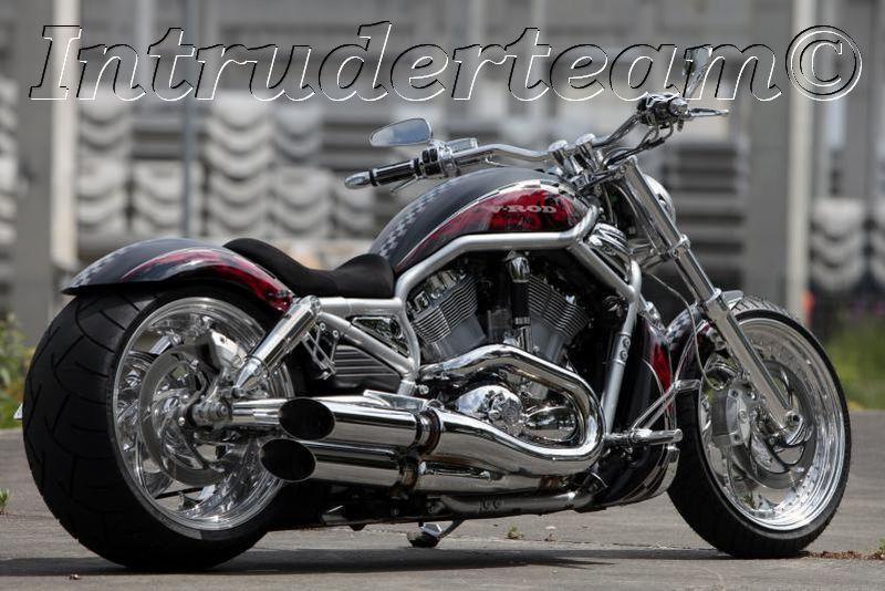 Air Ride Suspension Kit Harley Davidson V-Rod Muscle