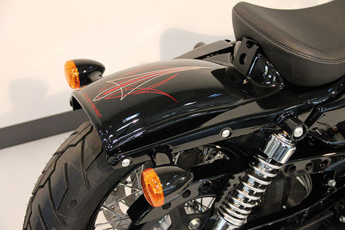 Bobber Heckfender Harley Sportster XL 10-later (may also fit XL 04-later with ECM relocation)