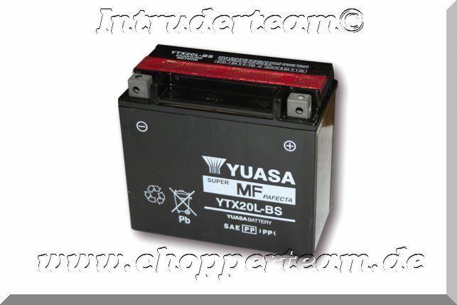 Harley Davidson Battery >> Yuasa Battery Ytx 20l Bs Maintenance Free Harley Davidson