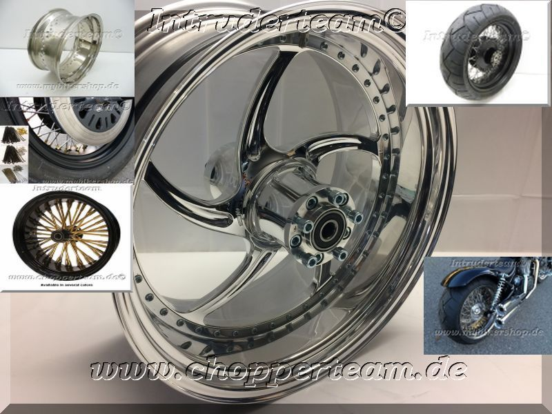 Speichen-normal-Big Spoke und Alu Intruder, Harley Davidson, Yamaha